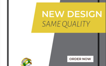 New Design – Same Quality